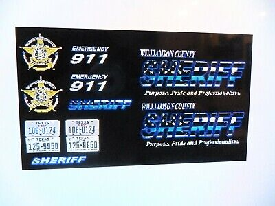 WILLIAMSON COUNTY SHERIFF (Texas) 2nd Issue Shoulder Patch