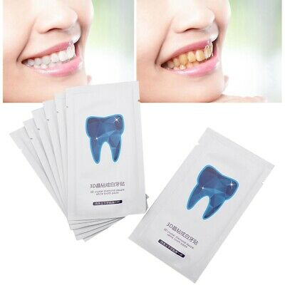 Professional 3D Teeth Whitening Strips Oral Stains Remover Dental Bleaching Tool