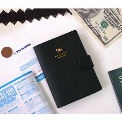 RFID Blocking Passport Holder Wallet Travel Card Organizer Cover Protector Case
