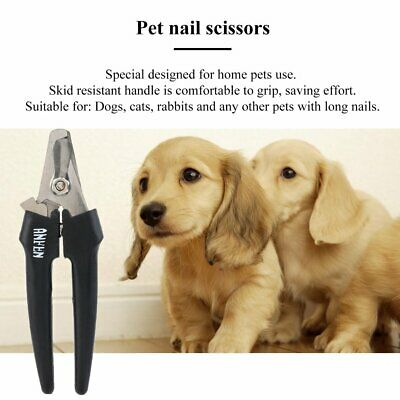 Pet Dog Nail Clipper Cutter Stainless Steel Grooming Scissors Clippers