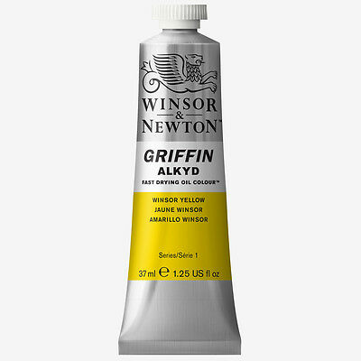 Griffin Alkyd Oil Paint 37ml Winsor Yellow