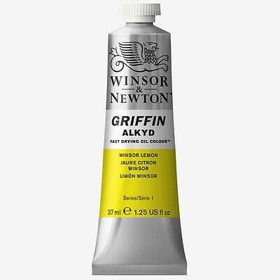 Griffin Alkyd Oil Paint 37ml Winsor Lemon