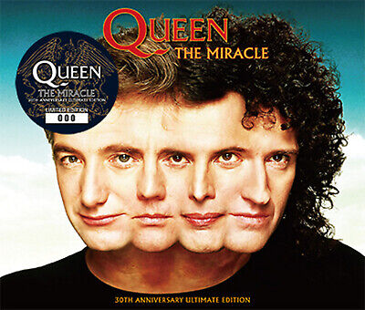 Queen - The Miracle 30Th Anniversary Ultimate Edition Japanese 3Cd+Dvd - Rare!