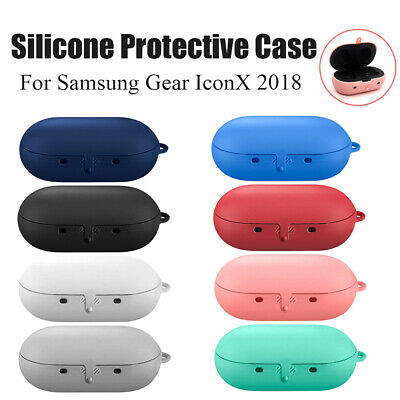 Case Shockproof sleeve Silicone Cover Earphone Skin For Samsung gear iconx 2018
