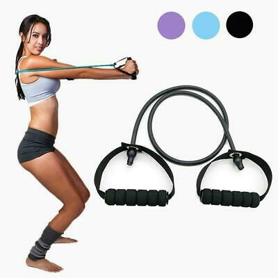 Pull Rope Elastic Resistance Bands Fitness Tensile Band Rubber Exercise For Y7W2