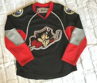detailed look 5ae4d f6308 PORTLAND PIRATES AHL REEBOK Stitched MN WILD JERSEY SIZE ...