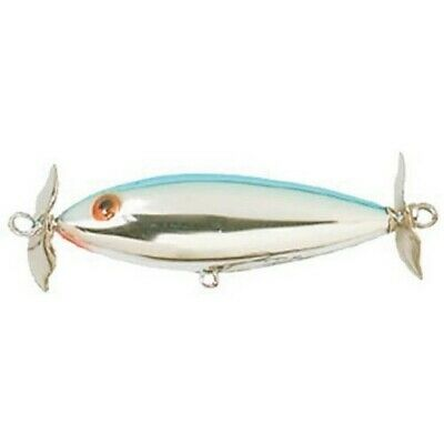 NOS Cotton Cordell Crazy Shad Chrome CO405 Topwater Lure