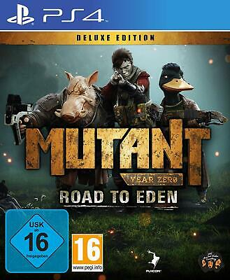 Mutant Year Zero - Road to Eden - Deluxe Edition PS4 New+Boxed
