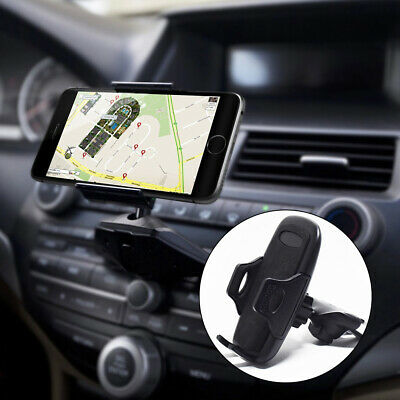 CD Slot Mobile Phone Holder for In Car Universal Stand Cradle Mount GPS UK STOCK