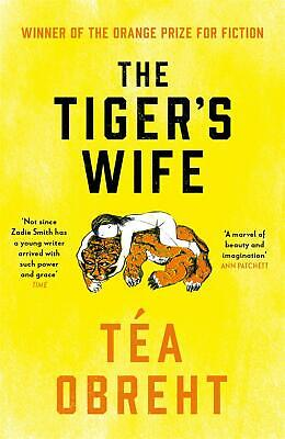 The Tiger's Wife by Tea Obreht Paperback Book Free Shipping!