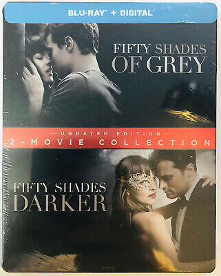 Fifty Shades of Grey - Fifty Shades UNRATED Darker 2-Movie Collection Steelbook