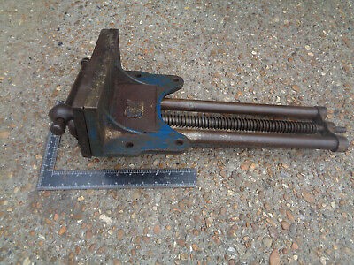 "Vintage large Record no.52 1/2 quick release woodworking vice 9"" LOTVCR55DQ"