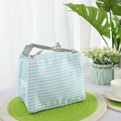 Insulated Lunch Bag Warm Cooler Fresh Picnic Travel Food Tote Box Hand Bags
