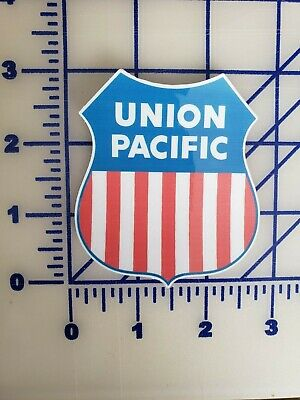 "1 #774 3.5/"" Union Pacific Luggage Label Tag Decal Sticker Label LAMINATED"