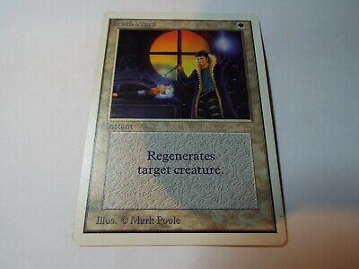 MAGIC THE GATHERING UNLIMITED CARD DEATH WARD ex-nm
