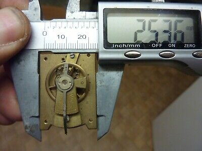 Old French Clock ?  Platform Escapement--Spares Or Repair (E) Free Post