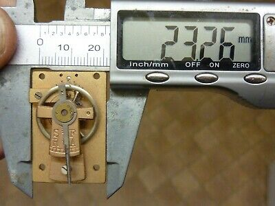 Old French Clock ?  Platform Escapement--Spares Or Repair (N) Free Post