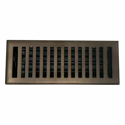 Madelyn Carter Modern Chic Oil Rubbed Bronze Wall and Floor Vent Covers (Steel)