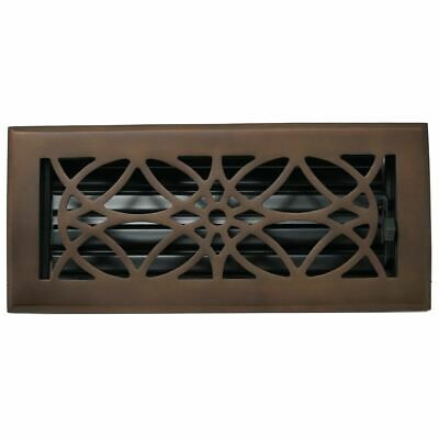 Madelyn Carter Empire Floor and Wall Registers (Cast Aluminum and Cast Brass)