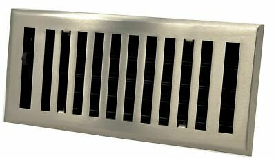Madelyn Carter Modern Chic Brushed Nickel Wall and Floor Vent Covers (Steel)