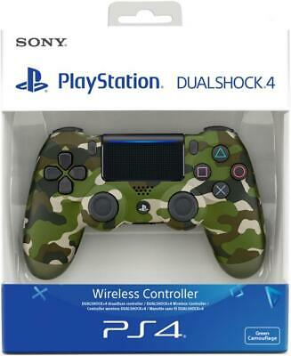 SONY PS4 Wireless Dualshock 4 Controller Original V2 Neustes Modell Camouflag