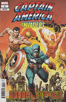 Captain America and The Invaders #1 1:25 Zircher Variant Marvel 2019