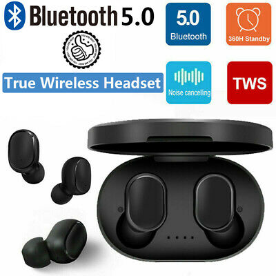 Bluetooth Wireless AirDots True TWS 5.0 Earphone Earbuds Headset Headphone 2019