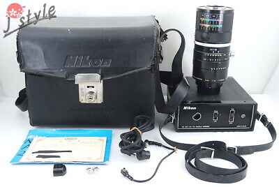[Working] Medical Nikkor Auto 200mm f/5.6 w/AC Unit LA-1 and Box #V671