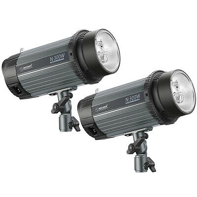Neewer 600W (2-Pack 300W) 5600K Studio Luz estroboscópica con flash Monolight
