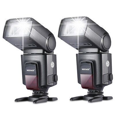 Neewer 2 pack TT560 Flash Speedlite para Canon Nikon Panasonic Olympus