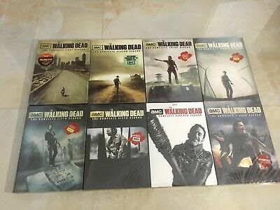 The Walking Dead: The Complete Season 1 2 3 4 5 6 7 8 (DVD, 2018, 36-Disc Set)