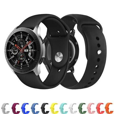 Sport Silicone Band Bracelet Strap Replacement for Samsung Galaxy Watch 46/42mm