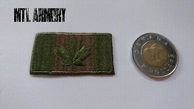 Canadian Forces OD Green Flag Patch Free shipping Canada Army