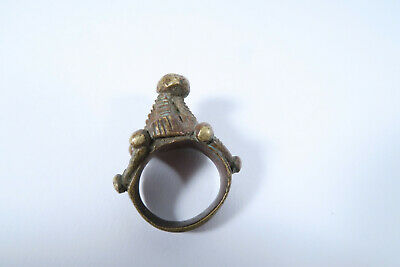 Alter Ring Baule AN65 Old Bauole Ring Bague Afrozip