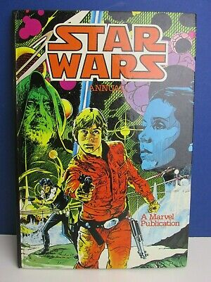 star wars VINTAGE STORY ANNUAL BOOK 1981 marvel GREAT CONDITION 77N