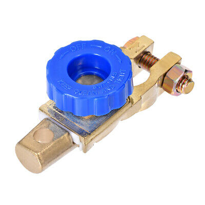 Battery Terminal Master Disconnect Switch with Knob 15-17mm Diameter Brass