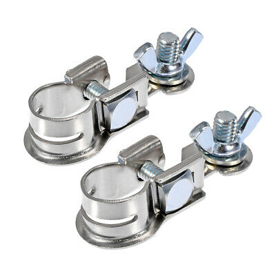 Top Post Battery Terminal Clamps Positive Negative Set Tinned Copper 1 Pair