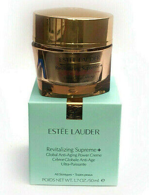 *ESTEE LAUDER REVITALIZING SUPREME GLOBAL ANTI AGEING POWER CREAM 50ml UK