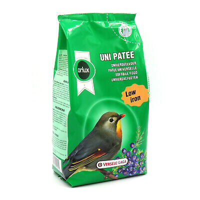 1kg Orlux Uni Patee Softbill Moist Food Universal for Robin Spectacle Wild Birds