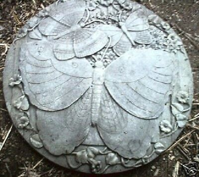 Concrete plaster butterfly stepping stone mold