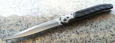 12.6'' Spring Assisted Stiletto Knife Combat Survival Pocket Combat