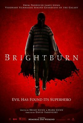 Brightburn - original DS movie poster 27x40 D/S - James Gunn