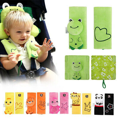Baby Car Seat Belt Strap Cover Pad Infant Baby Cushion Stroller Accessories
