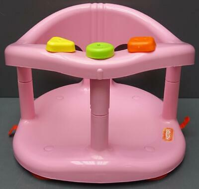 Christmas SPECIAL EDITION bath ring Baby Tub  Seat KETER Pink  FAST SHIPPING