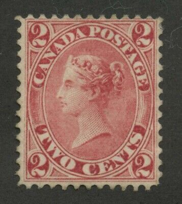 Canada 1859 First Cents issue QV 2c rose #20 Mint no gum