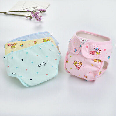 Reusable Newborn Baby Nappy Cloth Diaper Soft Cover Washable Waterproof Nappy Z