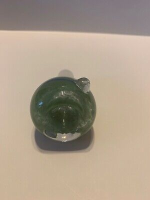 14mm Male Glass Slide Bowl Green Blue