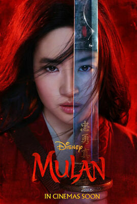 Mulan - original DS movie poster 27x40 D/S - 2019 INTL Advance