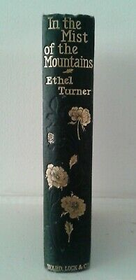 In the Mist of the Mountains by Ethel Turner BOOK Childrens Vintage HC 1906