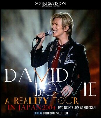David Bowie / A REALITY TOUR Blu-ray Collectors Edition 2BD F/S